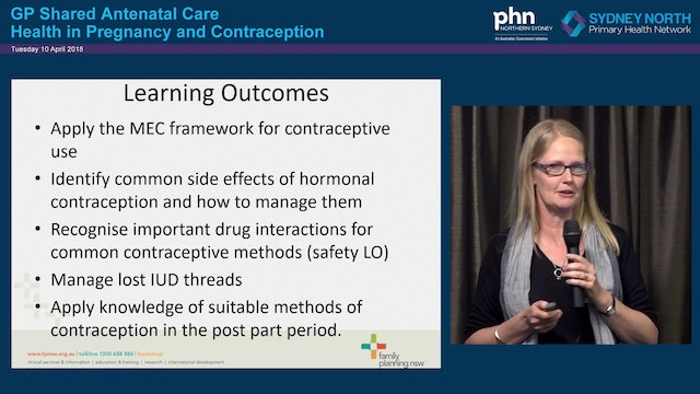 Contraception Dr Mary Stewart Family Planning NSW