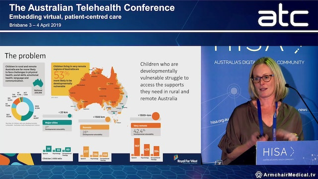 Using telecare to enhance children's outcomes in rural and remote Australia – the Royal Far West story Katherine Burchfield Health Director, Royal Far West