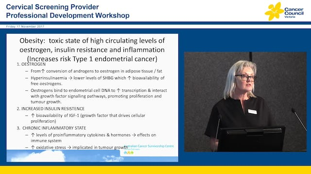 Endometrical Cancer Prevention and survivorship Nicole Kinnane