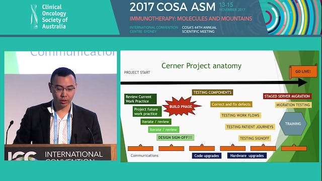 Implementing Cerner Oncology in a metropolitan cancer service the process and lessons learnt Richard Khor