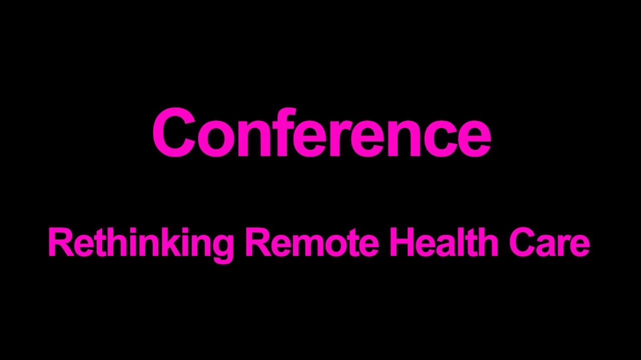 Rethinking Remote Healthcare Blurred