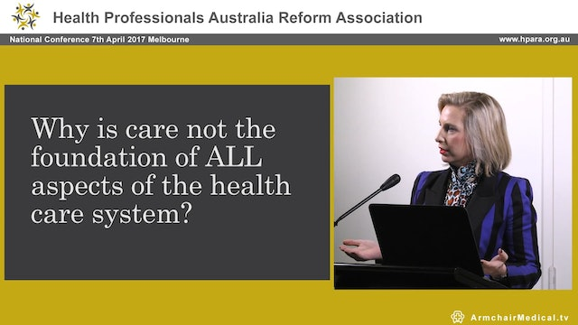 Making Care the Foundation of Health Care Regulation Maxine Szramka