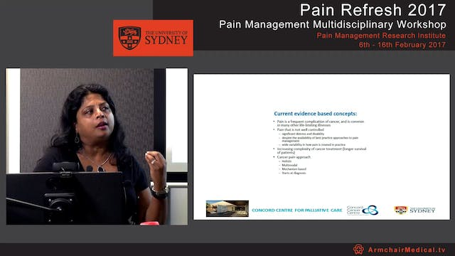 Opioid pharmacology and cancer pain A...