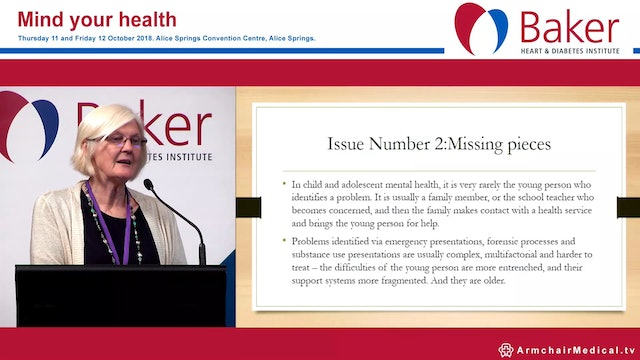 Local issues in youth Dr Megan Chambers