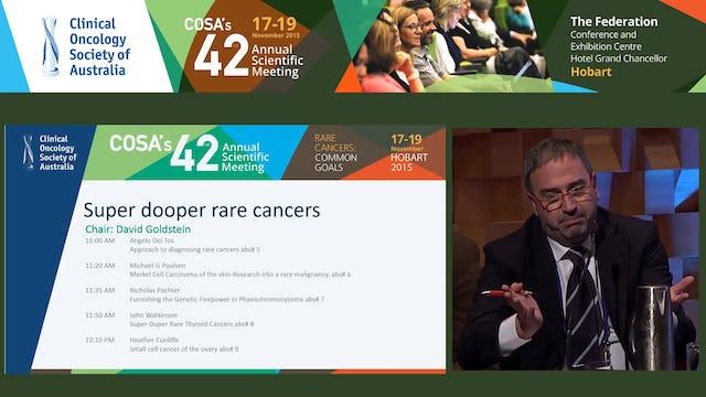 Super dooper rare cancers Panel Discussion