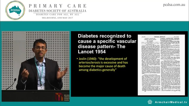 The emerging importance of cardiac failure diagnosis and management in people with type 2 diabetes Dr Gautam Vaddadi