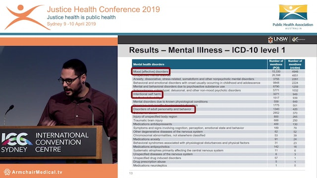 Automatic extraction of mental illnesses from domestic violence police event narratives George Karystianis
