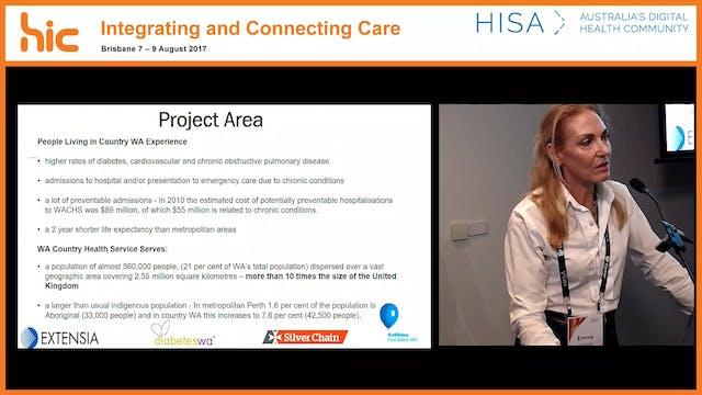Integrated care - health navigator Emma Hossack