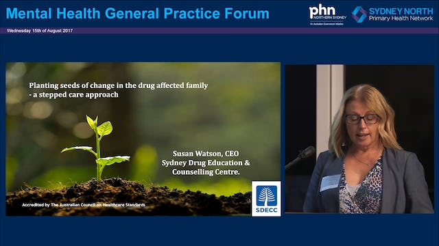 How SDECC plants the seeds of change in the drug affected family Susan Watson