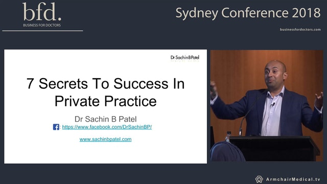 7 Secrets to success in private practice Part 1 Dr Sachin Patel