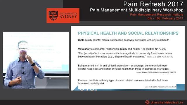 Chronic pain and the partner Dr Toby Newton-John