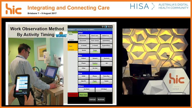 Cognitive Informatics – understanding clinical work to design better systems Prof Johanna Westbrook