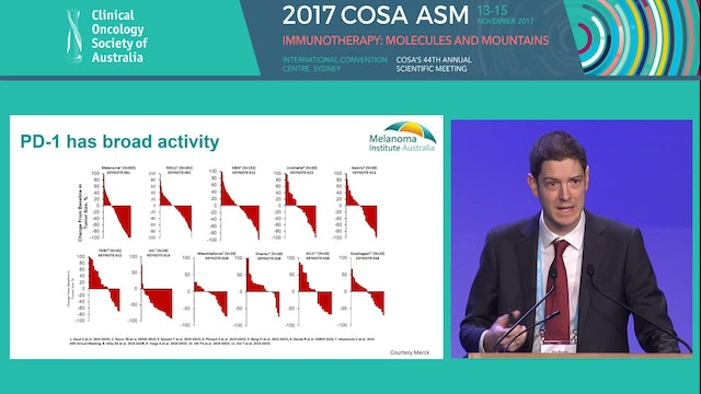 Treating melanoma in non-trial populations Alexander Menzies