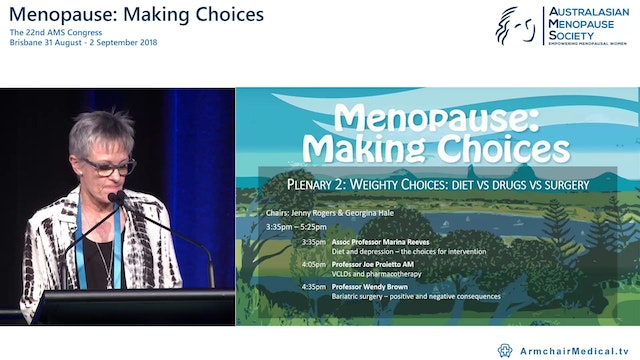 Dietary intervention for weight loss choices for content and delivery Assoc Prof Marina Reeves