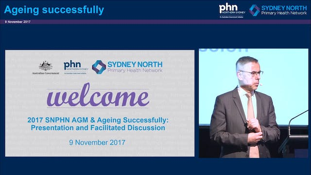 Ageing successfully Dr Norman Swan