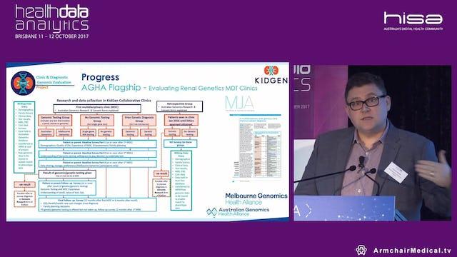 Genomics in the Kidney Clinic - translation, implementation and Dr Andrew Mallett @kidgenaustralia Nephrologist, Royal Brisbane and Women's Hospital