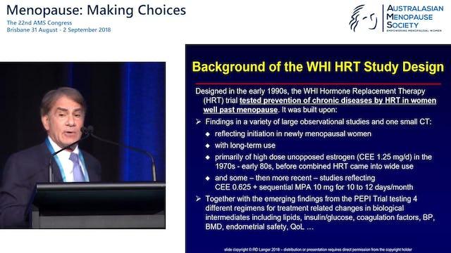 Primary vs secondary prevention of chronic disease in women Prof Bob Langer