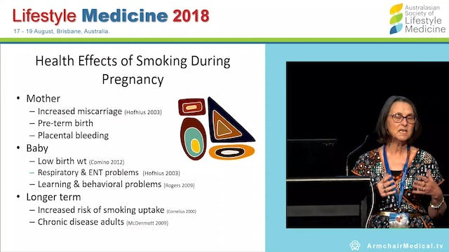 Connection and meaningful health change What we learn from pregnant Indigenous women's smoking cessation AProf Gillian Gould