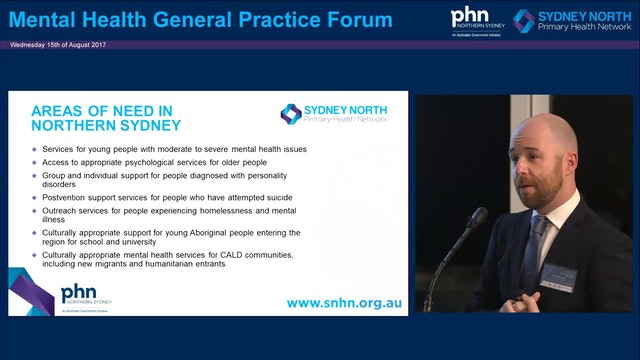 Mental health in Sydney North David Grant