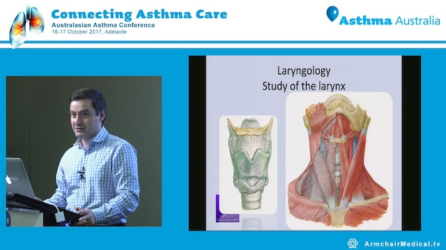 Laryngeal causes which present with symptoms of cough, wheeze or shortness of breath Theo Athanasiadis
