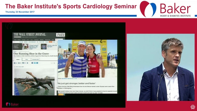 An Ironman dies suddenly, is exercise the cause Assoc Prof André La Gerche