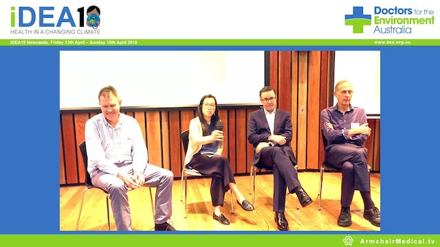 Panel Discussion Hon Mark Butler, Dr Bob Brown, Prof Tony Capon
