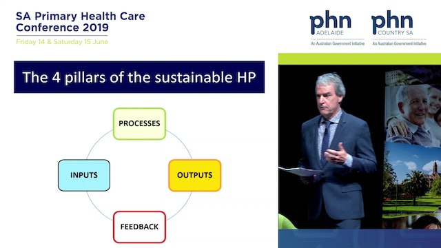 The Sustainable Health Professional Dr Roger Sexton