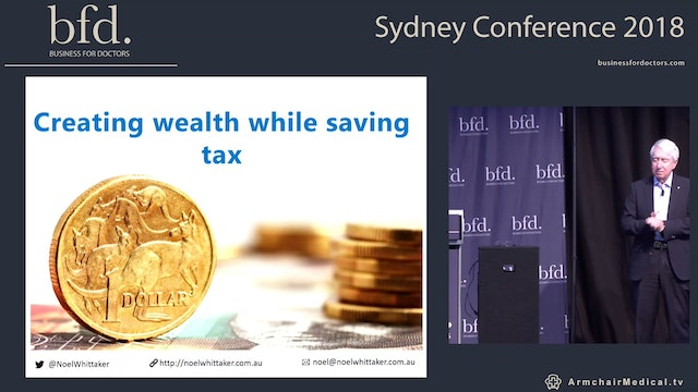 Creating wealth while saving tax Noel Whittaker