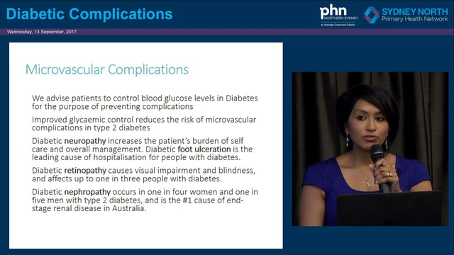 Diabetes Complications Dr Darshika Christie-David