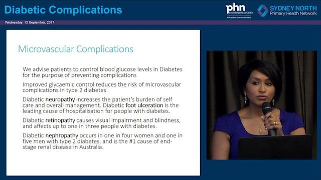 Diabetes Complications Dr Darshika Christie-David