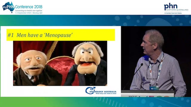 Ten Myths and Misconceptions in Men's Health Prof. Robert McLachlan Director, Andrology Australia