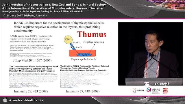 Sepsis, osteoblasts and immunodeficiency Prof Hiroshi Takayanagi
