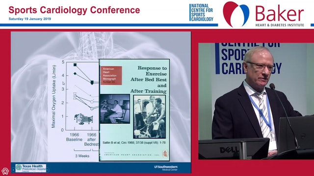 Exercise The Antidote for the Aging Heart Prof Ben Levine