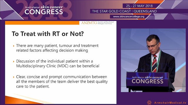The role of radiotherapy in Lentigo Maligna Prof Gerald Fogarty