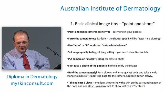 Photography and image management merge Dr. Ian McColl John Flynn Private Hospital