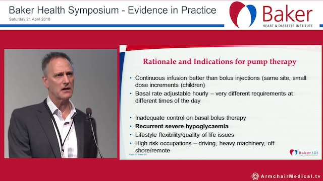 Technology and the management of diabetes Assoc Prof Neale Cohen