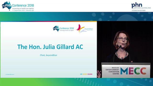 beyondblue The Hon. Julia Gillard AC Chair, beyondblue