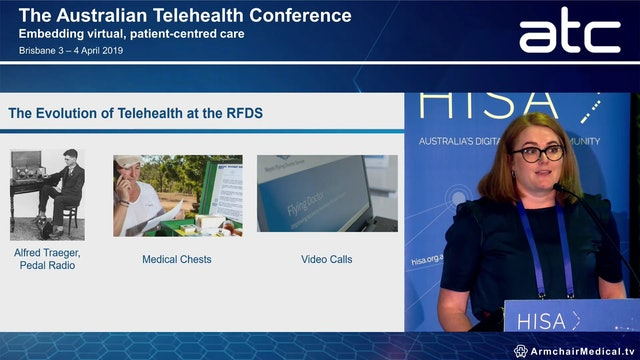 Mantle The evolution of a telehealth platform to enable remote health services across the RFDS network Cassie Moore Health Services Manager, RFDS Victoria