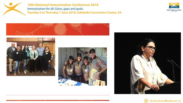 Access to immunisations for Aboriginal and Torres Strait Islander people Ms Katrina Clark