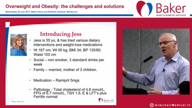 Drug Therapy for managing obesity Prof John B Dixon