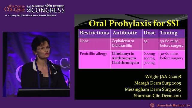 Anitbiotic prophylaxis in dermatological surgery Dr Helena Rosengren