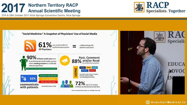 Practical use of social media and FOAMED by ANZ Paediatric trainees Dr Ari Horton