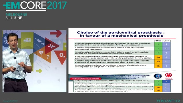 Mechanical Valve, on Anticoagulants, ...