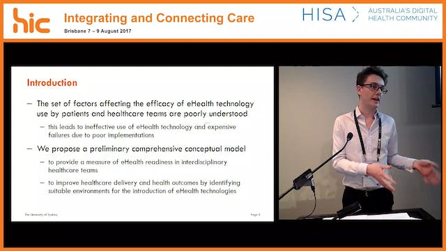E-health readiness for teams A comprehensive conceptual model James Phillips