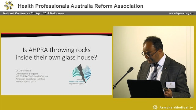 Is AHPRA throwing rocks inside their ...