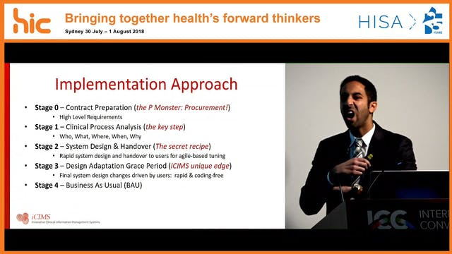 12 Months of immediate adaptability Outcomes from an oncology system implementation Ali Besiso
