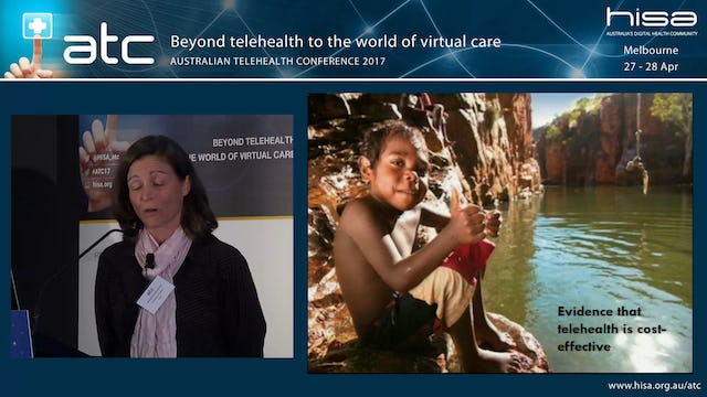 The organisational aspects of teleheatlh - Research and telehealth A Canadian Australian epidemiologist's view Assoc Prof Alexandra Martinluk