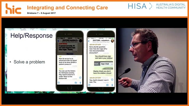 Using social media tools to enhance end user support - the Royal Children's Hospital EMR go-live experience Adrian Hutchinson