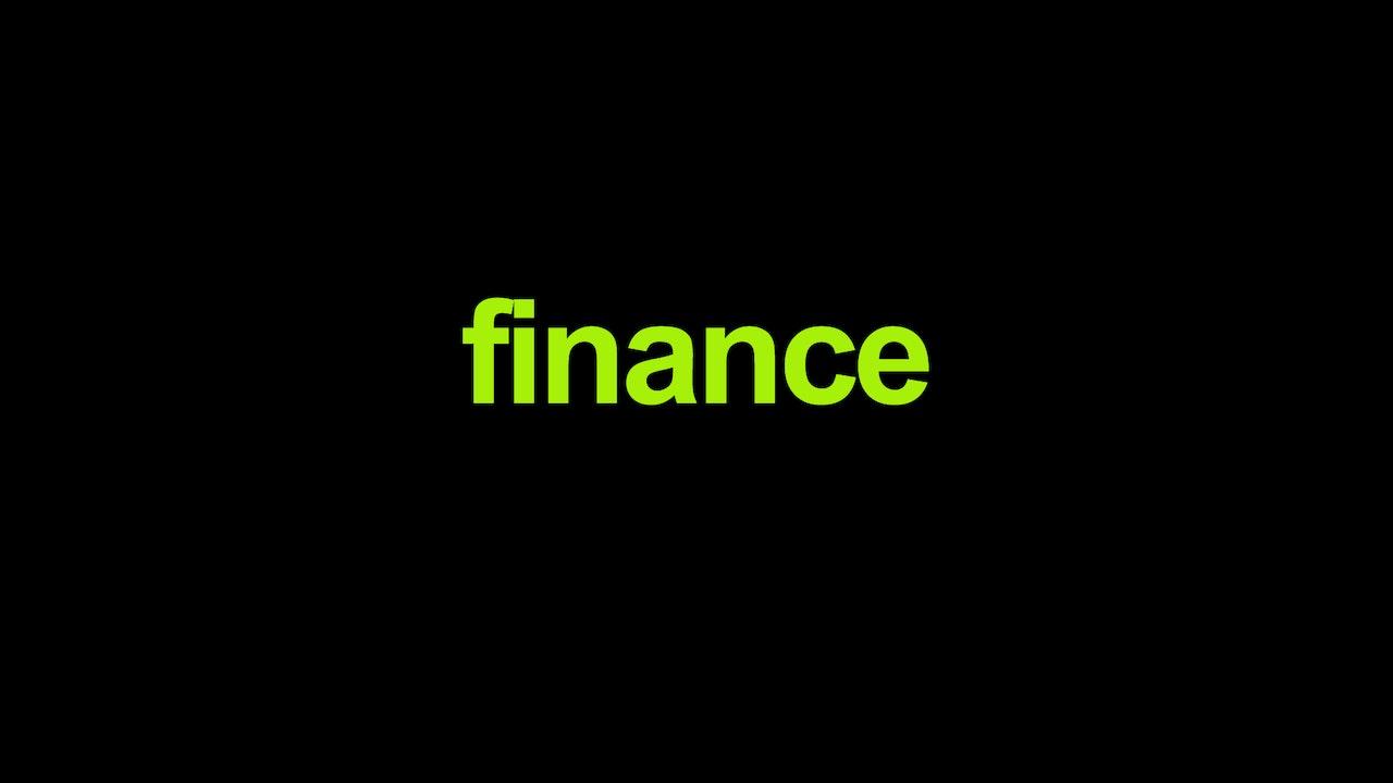 Finance Blurred