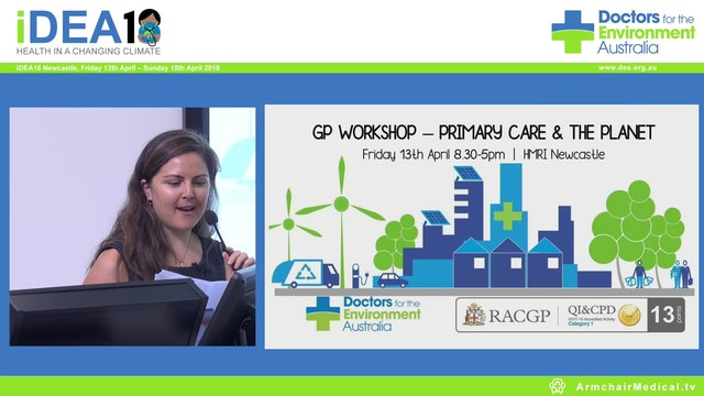 GP Workshop Welcome Primary Care and the Planet Dr Nicole Sleeman